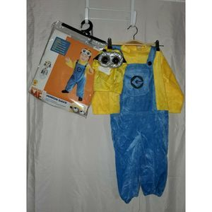 4/$20 Despicable Me 2 Dave Minion Costume 6-12M